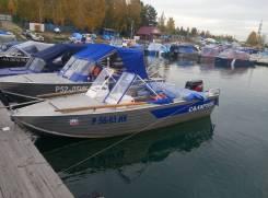 Продам моторную лодку Салют 430