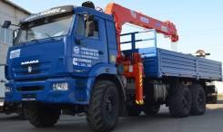 КамАЗ 43118 с КМУ Канглим KS-1256, 2019