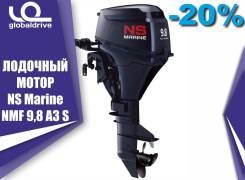 4х-тактный лодочный мотор Nissan Marine NSF 9.8 A3 1