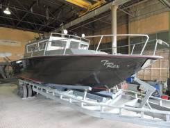 Проект TRex-40, глиссирующий катер из АМГ