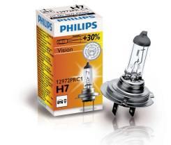 ЛАМПА БЛИЖНЕГО СВЕТА PHILIPS H7 (PX26d) 12 В, 55 Вт Premium Vision +30% 12972PRC1