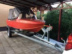 Моторная лодка Неман 2 с новым плм Меркурий 25