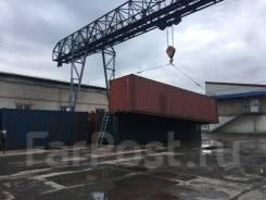 Обработка-вывоз контейнера с терминала Терминальные услуги Хабаровска