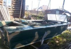 Продам моторную лодку Днепр