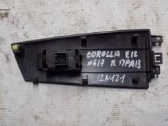 Накладка блока управления стеклоподъемниками Toyota Corolla E12 2001-2006