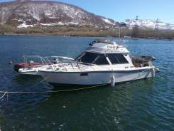 Аренда катера на Камчатке, рыбалка, морские прогулки
