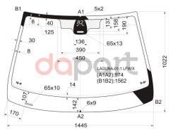 Стекло лобовое +дд в клей RENAULT LAGUNA II 5D HBK / WGN 01-03 XYG LAGUNA011LFWX