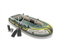Трехместная надувная лодка 295x137x43