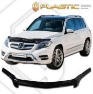 Дефлектор капота. Mercedes-Benz GLK-Class, X204 OM642, M272DE30, M272E35, M274DE20AL, M276DE35, M272, E30, E35, M274, E20, M276, DE35, M651, D22, G4...
