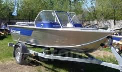 Алюминиевая лодка Салют 430 Scout Классическая в Наличии