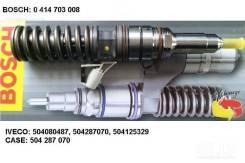 0414703008 bosch форсунка PDE100S4007 CASE/FIAT/Iveco (50428707/