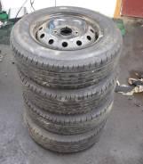 "Комплект летних колес Bridgestone 185/70 r14. x14"" 4x114.30"