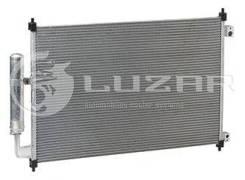 Конденсер с ресив. Nissan X-Trail T31 (07-) |В наличии на складе! Luzar LRAC14G4