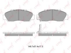Колодки тормозные дисковые | перед | LYNXauto BD3405