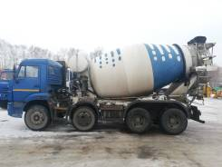 КамАЗ 58149Y. Автобетоносмеситель 58149Y шасси Камаз-6540 9м3 (ЕВРО 4) б/у (2016 г. ), 9,00куб. м.