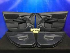 Обшивки дверей комплект Subaru WRX STI V10 VA 2014 2015 2016 2017 2018