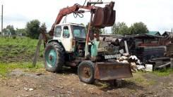 ЮМЗ 6. Трактор юмз 6 с грейферной установкой, 65 л.с.