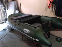 Продам лодку ПВХ Река-285м с мотором Меркурий 8 всё новое