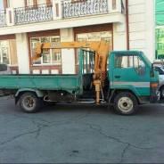 Услуги грузоперевозок - грузовик с манипулятором (воровайка) 750р. час