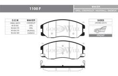 Колодки тормозные передние Opel Antara, Chevrolet Captiva 2.0/2.0CDTi/2.4/3.2 06> GoodWill