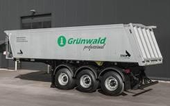 Grunwald. 9453-50 (самосвальный квадратный Алюминий, 27 м3), 32 250кг.