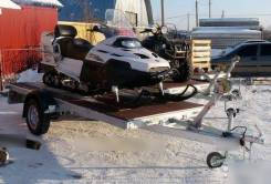 Прицеп платформа для снегохода Автос