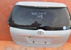 Дверь багажника. Toyota Wish, ANE10, ANE11, ZNE10, ZNE14, ANE10G, ANE11W, ZNE10G, ZNE14G 1AZFSE, 1ZZFE