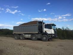 Услуги самосвалов Scania, Volvo, Hino, вместимость кузовов 18-27 куб. м