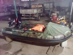 Продам лодку санмарин с мотором тахацу