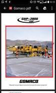 Gomaco GHP 2800, 2000