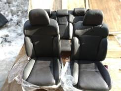 Сиденья черная кожа Lexus GS430 UZS190 2007 GS300 GS350 GS450 GS460