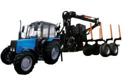 BMF 12T2PRO и манипулятором BMF 650 + Трактор Беларус 892.2, 2019