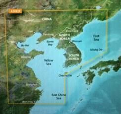 Карта Японского моря на GPS Garmin последняя версия