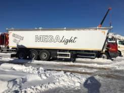 MEGA MNW 3. Полуприцеп самосвальный алюминиевый «Light» Объём 42 куб. м, 34 000кг.