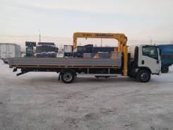 Isuzu NQR. Isuzu ELF NQR90 борт с КМУ от дилера «Камион» в Красноярске, 5 200куб. см., 7 000кг., 4x2