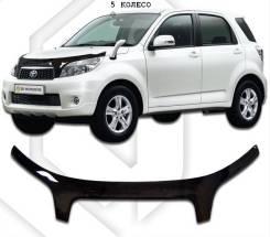 Дефлектор капота Toyota Rush 2006-2008 exclusive (Classic черная) 818