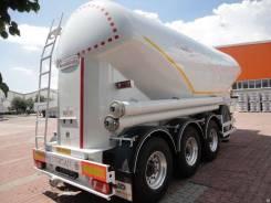 Nursan. Цементовоз 32 Алюминиевый, 5 100 кг., 35 000кг.