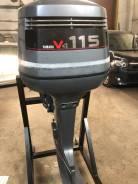 Yamaha. 115,00л.с., 2-тактный, бензиновый, нога U (762 мм), 1996 год