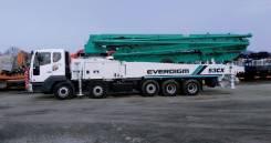 Daewoo Novus. Everdigm 53M на шасси 2018 год, 10 964куб. см., 53,00м.