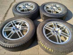"18151 Японские диски Fortible R18 с шинами Michelin Latitude 245/60. 7.5x18"" 5x114.30 ET48"