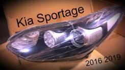 Линза фары. Kia Sportage, QL, SL D4FD, D4HA, G4FD, G4FG, G4FJ, G4KD, G4KE, G4KH, G4NA, G4NU