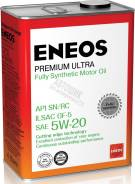 Масло моторное Eneos Synthetic Premium Ultra 100% SN 5w20 4л