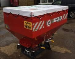 Разбрасыватель минеральных удобрений РУМ 1200 литров навесной