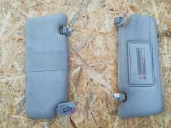 Козырьки солнцезащитные клипсами и заглушками (комплект) Almera G15