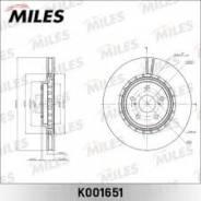Тормозной диск передний Miles K001651
