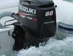 Suzuki. 60,00л.с., 4-тактный, бензиновый, нога S (381 мм), 2020 год