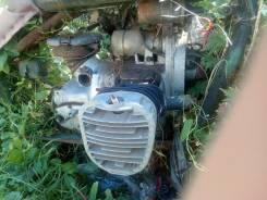 Двигатель к750 и КПП Урал патруль под механическую сирену