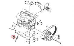 Подушка двигателя Bearcat 570 XT 0608-250