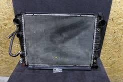 Радиатор охлаждения двигателя. Mercedes-Benz S-Class, V220, W220 Двигатели: M113E43, M113E50, M113E55, M137E58, M137E63