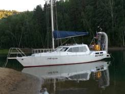 Круизная моторно-парусная яхта. Длина 11,00м., 2007 год